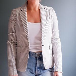 Cynthia rowley Cream and grey blazer/jacket